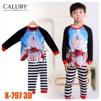 Girls Elsa Princess Pajamas Sets Kids Autumn -Summer Clothing Set New 2014 Wholesale Children Frozen 2-7Y Pijamas X-507