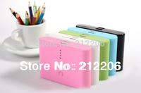 Free Shipping Hight Capacity Universal 12000mAh Backup External Battery USB Power Bank Charger for Cell Phone 10pcs/lot