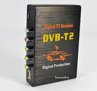 Car DVB-T T2 Receiver MPEG-2 / MPEG-4 External Digital TV Box Support 60km/h High Speed H.264 HDMI Russia Free Shipping
