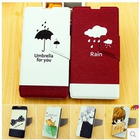 Original Fashion Cheap Flip Leather Case for Xiaomi Red Rice Leather Case Cover with Free Screen Protector Freeshipping