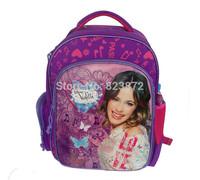 Free shipping New 2014 Children School Bags for Girls Violetta Bag Original Cartoon Backpack Mochilas School Kids Schoolbag