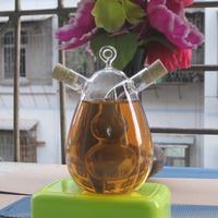 Kitchen Supplies / Gourd Glass Bottle / Jar sauce / Oil Bottle Vinegar / Cruet For Seasoning / Oil And Vinegar Bottle / Soy