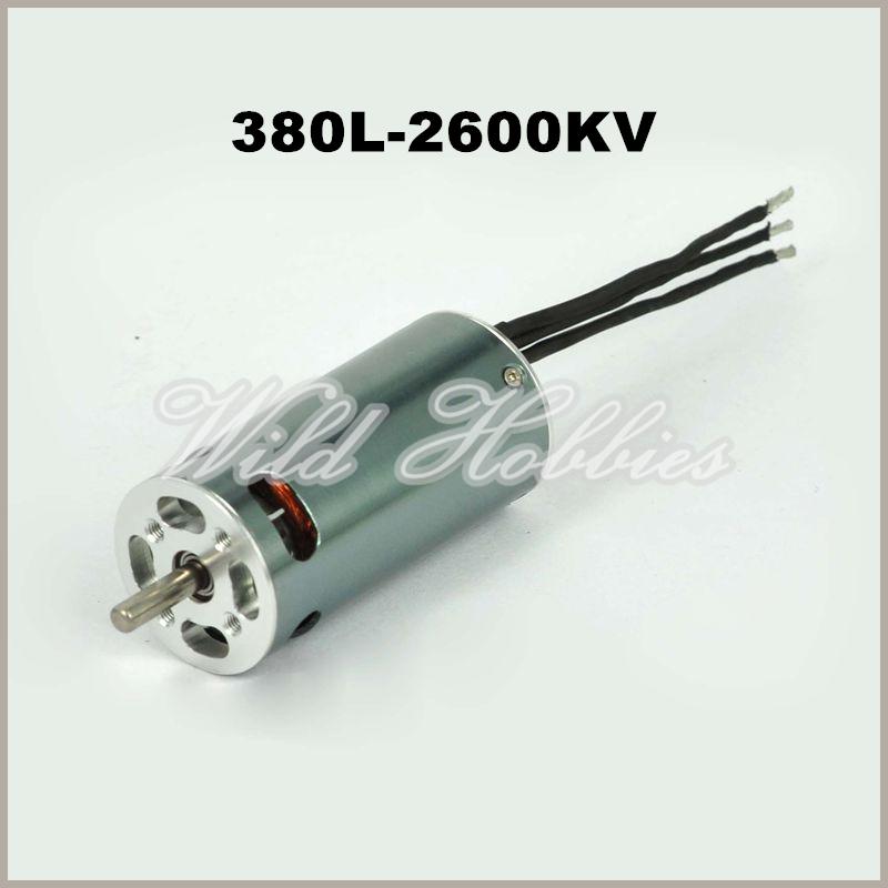RC Hobby Brushless Motor Turnigy 380L V-Spec Inrunner w/ Impeller 2600kv(China (Mainland))
