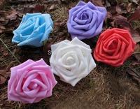 7CM artificial floral foam eva roses bouquet,diy craft arrangements kissing ball&bride hand flower&decoration for car&arch&led