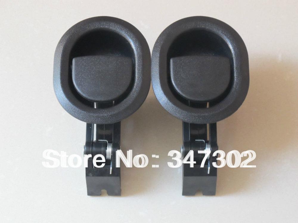 5 Pcs Oval reclinável Sofá / Cadeira Lançamento Lever Handle preto plástico rígido(China (Mainland))