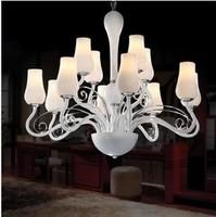 2014 Hot Sale Limited Knob Switch Incandescent Bulbs Foyer Lustre  Living Room Pendant Light Petal Bedroom Lamp Lamps