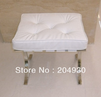 MR-201065 vanity stool, chair with stainless steel frame