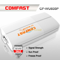 Free Shipping New product COMFAST CF-WU835P 2T2R 300Mbps mini usb wifi adapter with WPS one key encryption