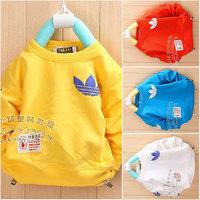 Kids Children's clothing bobo o-neck long-sleeve sweatshirt t-shirt 0.5