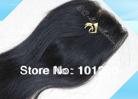 4x4 Medium Brown Straight Silk Based Virgin Brazilian Lace Closure, Free Part,Middle Part,3 Parts,Tangle,Shedding Free