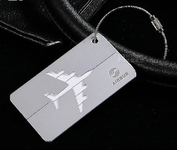 Pilot Luggage Tags Metal Luggage Tag Aluminum