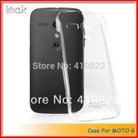 Genuine Brand New IMAK Crystal series PC Ultra-thin Hard Skin Case Cover Back for Motorola MOTO G XT1028 XT1032 XT1031