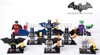 Batman Series SY182 Robin Joker 8pcs/lot Building Block Sets Educational DIY Bricks Toys For Children No original box