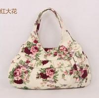2014 casual women handbag women shoulder handbag bag women portable canvsa handbags