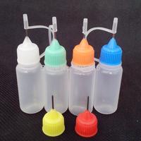 Wholesale 2500/Pcs 10ml Plastic Dropper Bottles Plastic Dropper Bottles Eye Dropper Bottle Needle Cap fedex