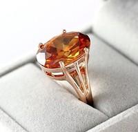 Real Italina Rigant Genuine Austria Crystal 18K gold Plated Rings for Women Enviromental Anti Allergies   #RG93290