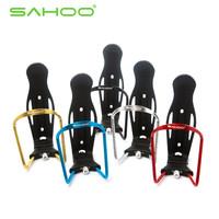SAHOO Bike Aluminium Alloy Water Bottle Cage Adjustable Bottle Holder Side Cage Bottle Holder Cages  5 Colors