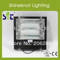 40W Flood Light Low Frequency Induction Lamp 100~300v/347v E27/E40 High Quality 2700K/4000K/5000K/6500K/ 5Years Warranty