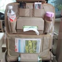 Multifunction car back with bags / Car debris bag / Bag / Hanging Tissue Box