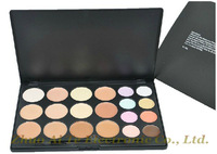 Powder professional makeup palette 20 color Bronzer & Highlighter Concealer Cosmetics Free Shipping