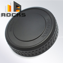 New Black Wholesale / Retail Free shipping Pixco Protective Rear Lens Cap Suit For Pentax PK Lens