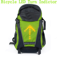 2014 UNIQUE HIKING BACKPACK WITH SAFETY LED TURN INDICATOR BACKPACK HIKING TRAVEL SPORTS FREE SHIPPING
