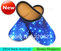 2014 New Waterproof Soft Family Unisex Home Slipper Warm Winter Indoor Household Slippers Comfortable Flat Shoes