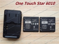 2pcs New CAB32A0000C1 Battery+Wall Charger For Alcatel One Touch Star 6010 OT-6010 OT-6010a OT-6010d Phone