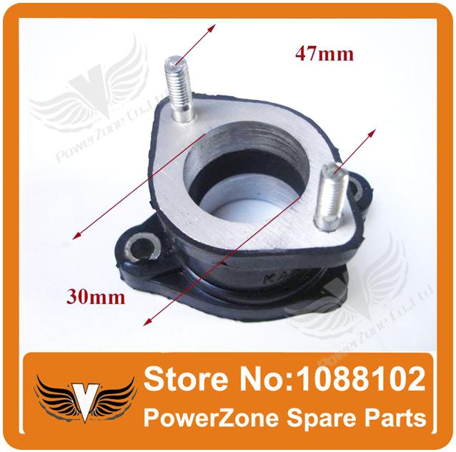 30mm Intake Pipe Manifold Pipe Fit To KAYO XMOTOR PIT PRO ATOMIk CRF KLX 150cc 200cc 250cc ATV Dirt Pit Bike Parts Free Shipping(China (Mainland))