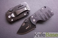 5pcs/lot Boker QQ mini black pig folding knife Pocket knives 420c 54hrc G10 handle Tactical Knife folding knives free shipping