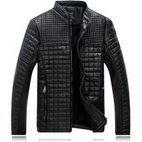 Man Lether Jackets Genuine Leather Jaquetas Masculinas Inverno Couro Jacket Men Jaquetas De Couro Men's Winter Leather Jacket