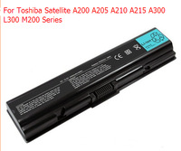 5200mAh 6 Cells Laptop Battery For Toshiba Satellite A200 A205 A210 A215 A300 L300 M200 Series PA3534U-1BRS PA3533U-1BRS