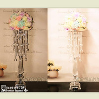 8pcs/lot Acrylic crystal road cited/Content wedding decoration/ tall 70cm