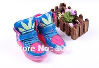 free shipping Luminous Children Athletic Shoes Boys Girls sport Shoes Kids Basketball Child Shoe Running Sneakers size 26-37