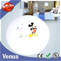 High Brightness spot sale Mickey pattern shade round ceiling light white 20watt 220v Acrylic shell Epistar chip SMD5730