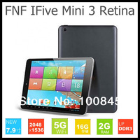 Original FNF iFive Mini 3 Mini3 Retina Display RK3188 Quad Core Tablet PC 7.85 inch Android 4.4 Bluetooth 2G Ram 16GB