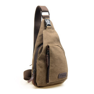 new 2014 outdoors small canvas bag waist pack men messenger bags,man shoulder bag travel bags sports bags for men Chest pack(China (Mainland))