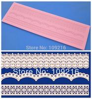Free shipping!!1pcs New Style Big 39.5*12*0.4CM Hollow Bud Silk (HY173) Silicone Handmade Fondant/Cake Decorating DIY Mold