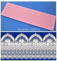 Free shipping!!1pcs New Style Big 39.5*11.6*0.4CM Bud Silk (HY172) Silicone Handmade Fondant/Cake Decorating DIY Mold