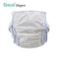50pcs/lot Top Quality Tencel Diapers Baby Nappies Adjustable Washable Cloth Diaper Newborn Nappy S/M/L 2 Colors (CD-05)