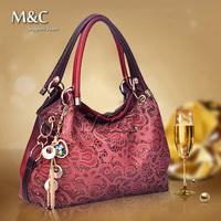 Bolsas Femininas 2014 Hollow Out Cowhide Leather Handbags Shoulder Bags Women Handbag Genuine Leather Bags for Women Bag SD-023