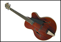 PROMOTION:Handcarft solid wood Mahogany Jazz guitar