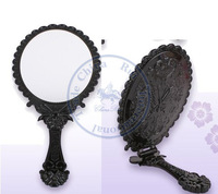 foldable portable pocket plastic mirror Butterfly Compact hand Cosmetic Make Up Wholesale