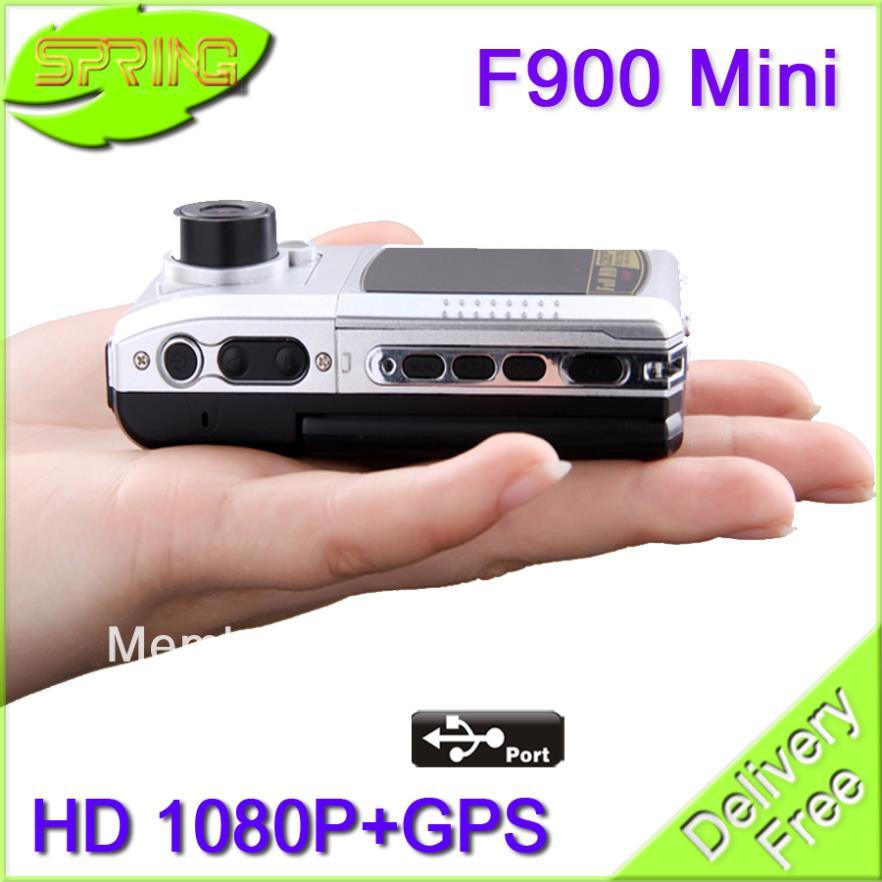 "FREE SHIPPING ""ambarella"" Chip F900Mini Car DVD Camera with GPS HD 1920X1080P 30FPS cam go pro dod +2.0""+AVI+HDMI+GPS+G-sensor(China (Mainland))"