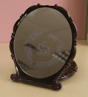 grace rose vintage foldable portable pocket plastic mirror vintage Compact hand Cosmetic Make Up  whcn+