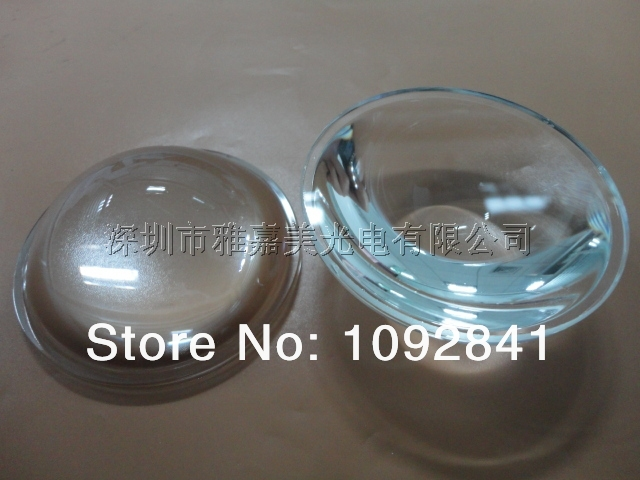 Wholesale - 64 mm diameter plano-convex optical glass, LED car lamp lens, light transmission rate of over 95%, 4 / batch(China (Mainland))