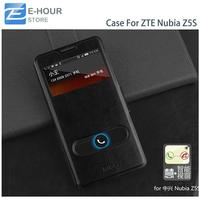 Original Mofi Leather Flip Case For 5 inch ZTE Nubia Z5S Smartphone