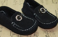 7565 High-grade imported genuine leather exported quality male child casual shoes