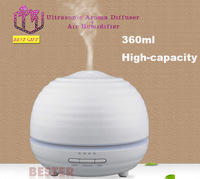 High -capacity 360ml Ultrasonic Aroma Diffuser Humidifier Mute Negative Ion Mist humidifier For Home Office