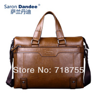 2014 new arrival totes High quality briefcase PU leather handbag Leisure bags Fashion shoulder bags messenger bags Brand man bag